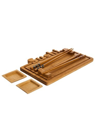 Bambum Focci - 9 Pr. Sushi Seti Renkli